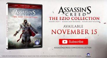 Confirmado: Assassin's Creed: The Ezio Collection llegará este año