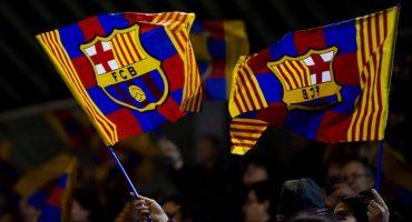 Grupos independentistas catalanes repartirán 30 mil banderas en el Camp Nou