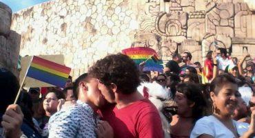 El Besotón, la respuesta en Mérida a las marchas contra los matrimonios gay