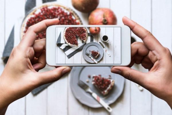 Una campaña para bajar fotos de comida en Instagram