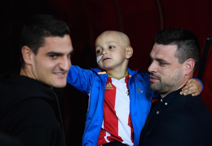 Everton pagó por el tratamiento de un niño aficionado del Sunderland