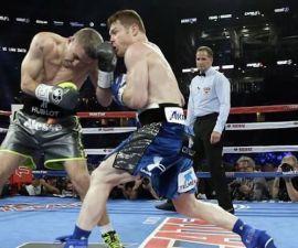 Canelo Álvarez contra Liam Smith