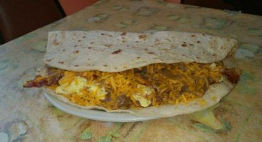 Para los de buen diente… el 'Mighty Chacho Taco' de 2 kilos