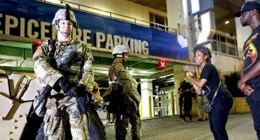 Luego de tres noches de protesta, decretan toque de queda en Charlotte