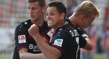 Mira el Hat Trick de 'Chicharito' y el gol de Marco Fabián en la Bundesliga
