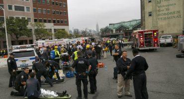 Se reporta un muerto y más de 100 heridos tras choque de tren en Nueva Jersey