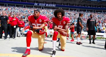 La protesta de Colin Kaepernick llegó a la portada de Time