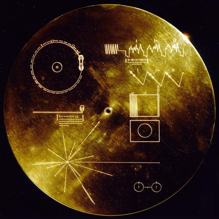 Legendario disco de oro de Carl Sagan será editado en vinyl por primera vez