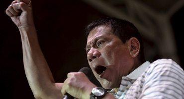 Presidente filipino quiere ser el nuevo Hitler: matar a todos los adictos de su país