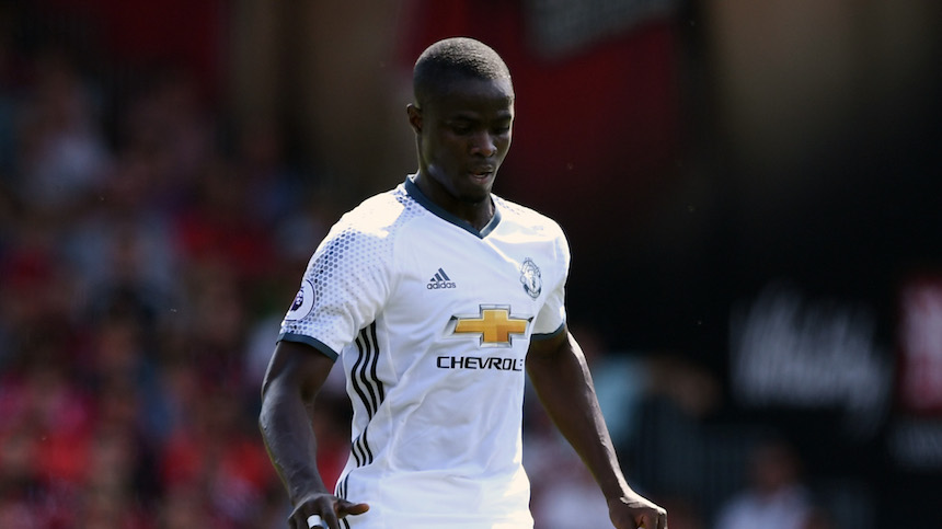 Eric Bailly con el Manchester United