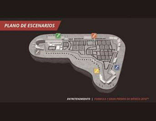Escenarios del Gran Premio de México