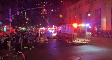 Explosión en Manhattan deja un saldo de al menos 29 heridos