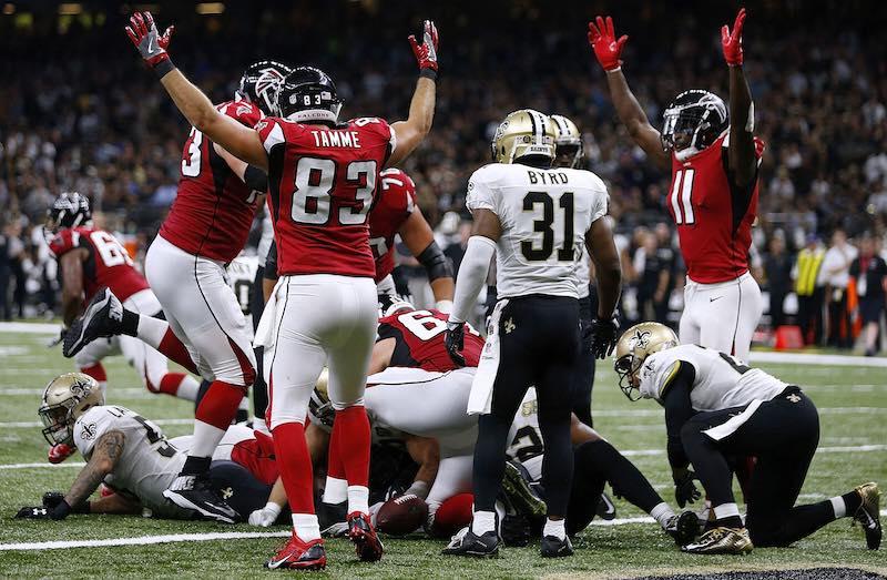 Atlanta Falcons alegando