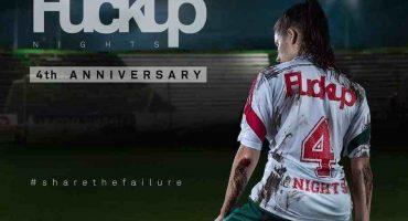 'Fuckup Nights' nos invita a celebrar su cuarto aniversario