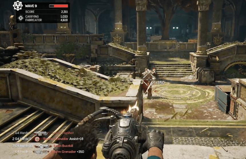 Gears of Wars 4 Horde Mode