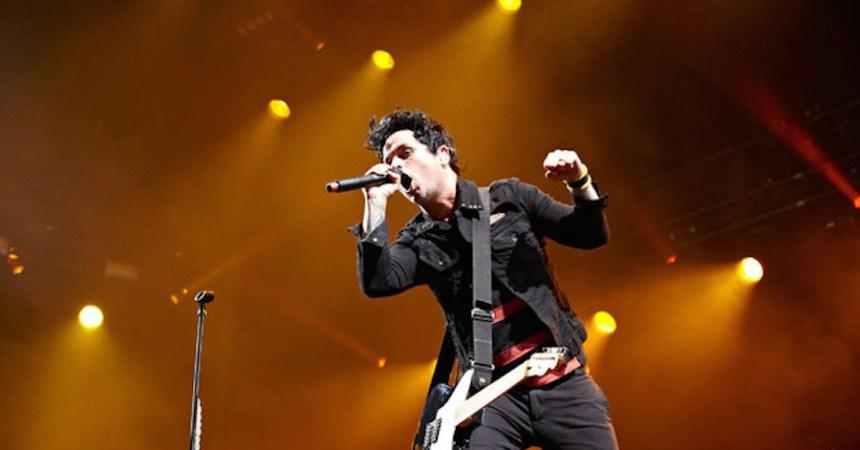 Green Day estrenó nuevas canciones de su nuevo disco