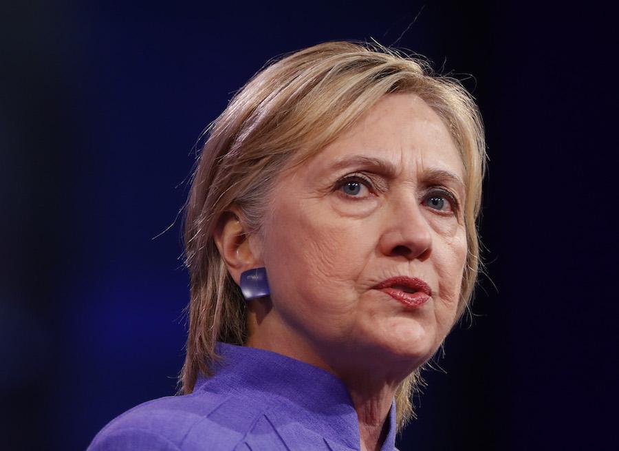 La candidata demócrata podría abandonar la campaña electoral