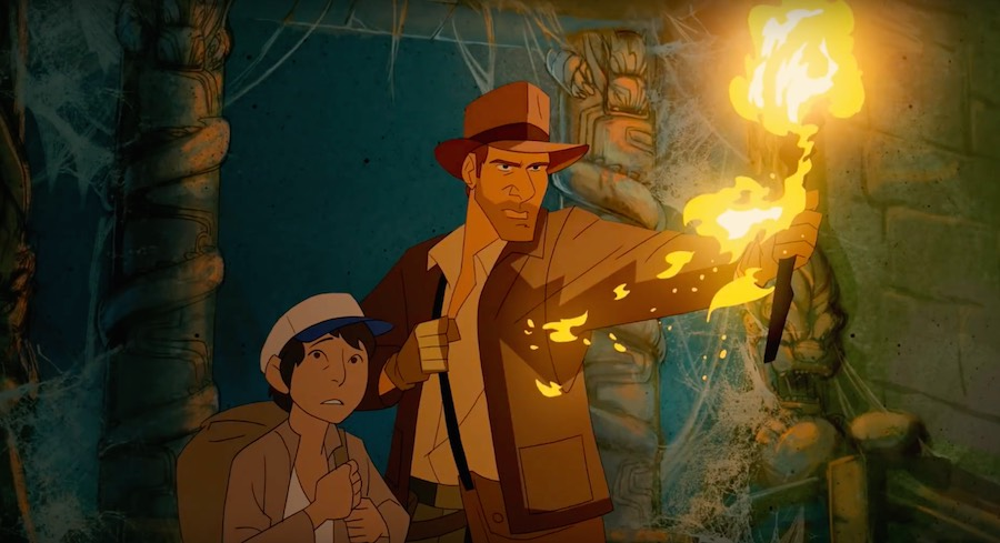 Cortometraje animado de Indiana Jones