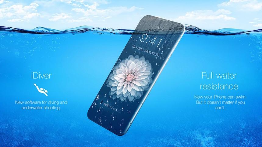 iPhone 7 Agua 3