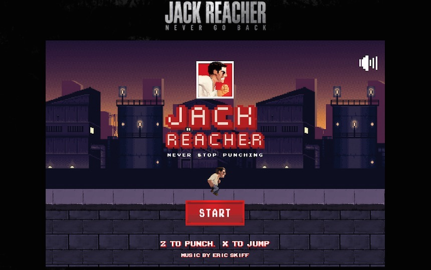 Jack Reacher Never Stop Punching Portada