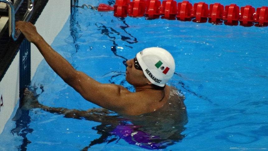 Medalla de bronce para Jesús Hernández en natación