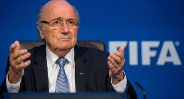 Por andar de mañoso, FIFA inicia una investigación en contra de Joseph Blatter