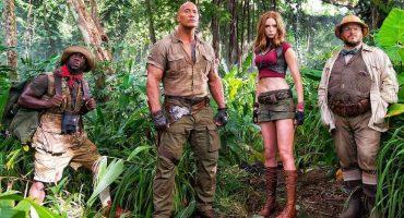 El elenco de Jumanji se ve muy relajado para estar en una peligrosa selva