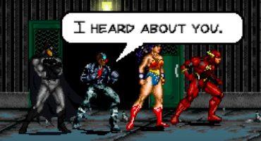 ¡Mira el increíble trailer de la película Justice League en 8 bits!