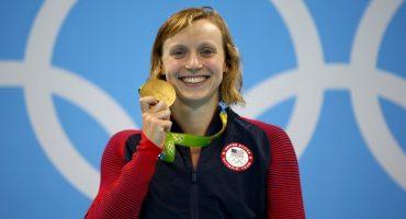 Katie Ledecky se ganó una wafflera y la rechazó por las reglas de NCAA