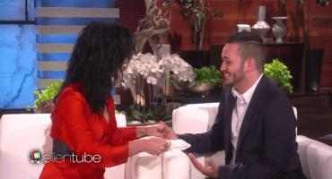 Katy Perry le dio una emotiva sorpresa a una víctima del tiroteo en Orlando