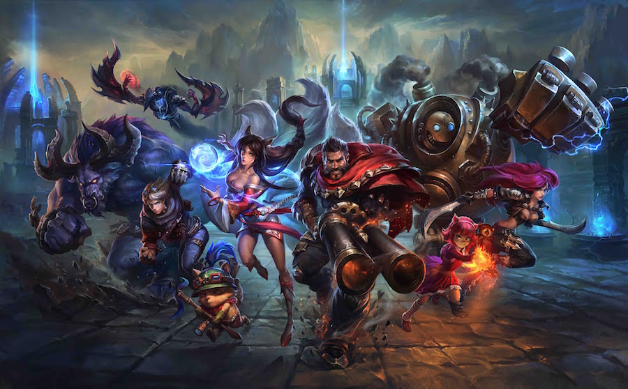 League of Legends - Capmeones
