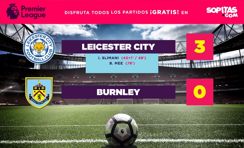 El Leicester City empieza a recuperar el camino