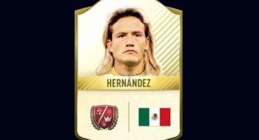 ¡El 'Matador' Hernández está en el equipo de leyendas del FIFA 17!