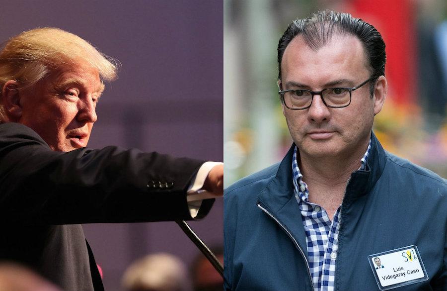 El candidato presidencial Donald Trump cree que la renuncia de Luis Videgaray como Secretario de Hacienda fue un error