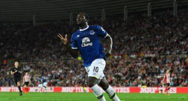Con triplete de Lukaku, Everton venció a domicilio al Sunderland
