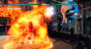 Mai Shiranui patea su propio trasero en Dead Or Alive 5: Last Round