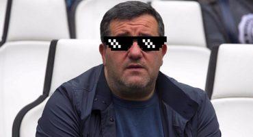 Mino Raiola, el agente que se hizo millonario este verano