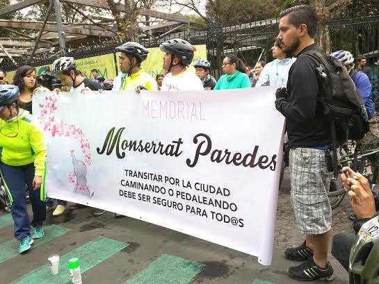 Imputaron al responsable de la muerte de Montserrat Paredes en Reforma