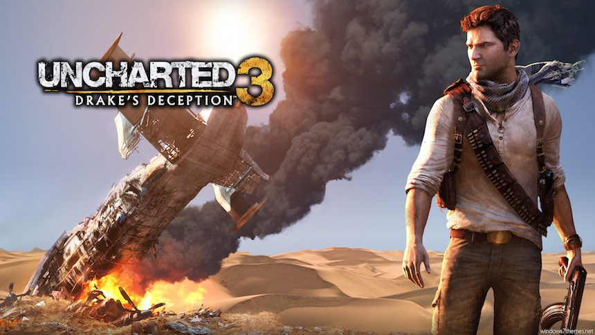 Nathan Drake Uncharted 3: Drake's Deception