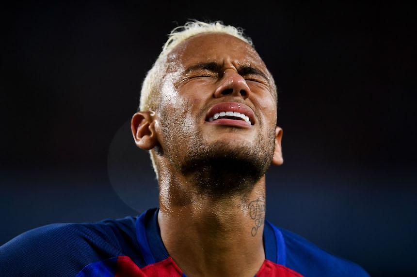 Neymar ha llegado con mucha polémica al Barcelona