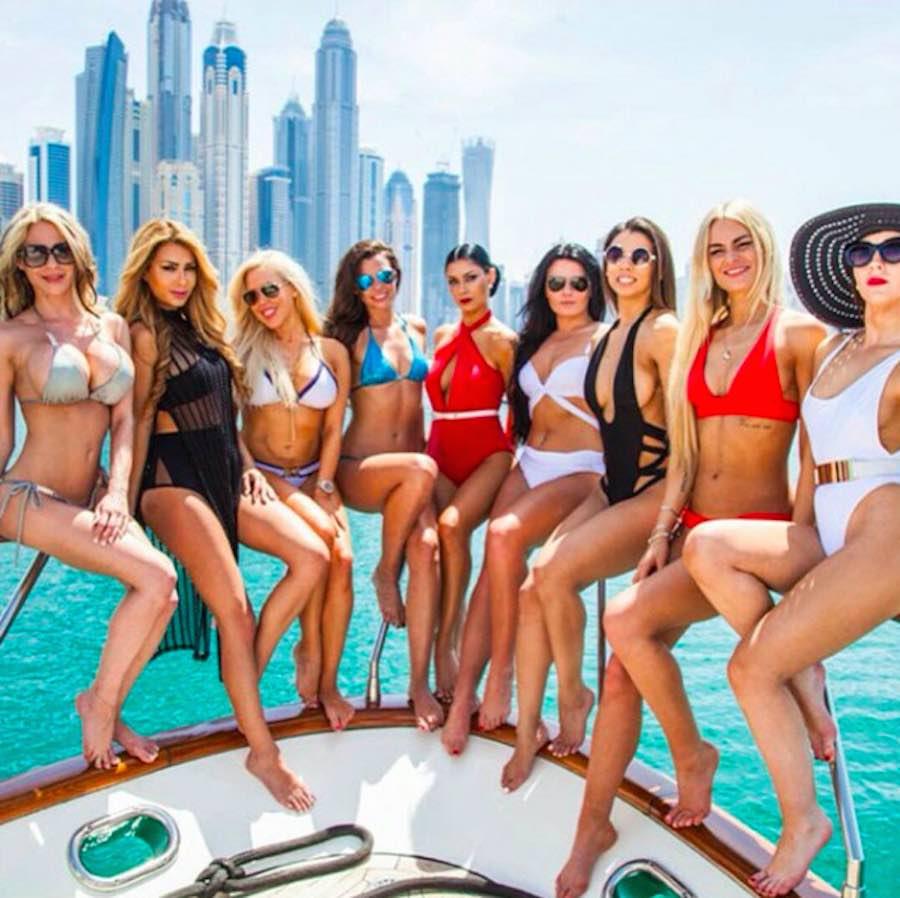 Modelos en Dubai