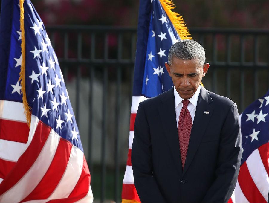 Obama encabeza los homenajes a víctimas del 9/11