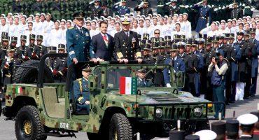 Las fotos del desfile militar de este 16 de septiembre