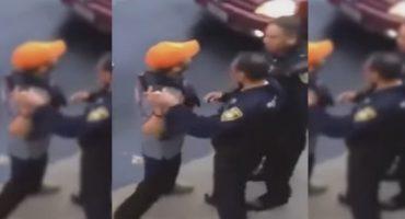 Encañona a policía, lo insulta, amenaza y no es detenido... ¿Y no lo hicieron #Lord?