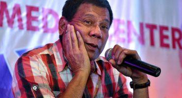Presidente de Filipinas promete renunciar si alguien consigue