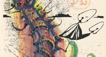 Nuevamente podremos ver las ilustraciones de Salvador Dalí para Alice in Wonderland