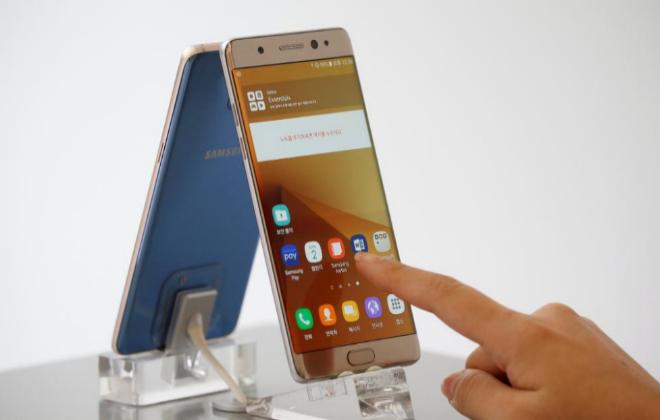 Samsung retira del mercado el Galaxy Note 7 por casos de