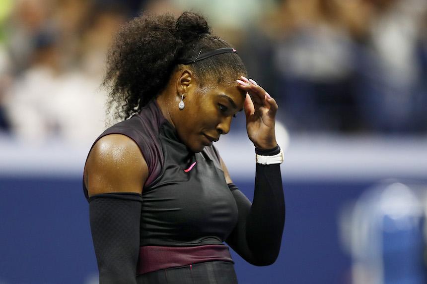 Serena Williams perdió en la semifinales del US Open