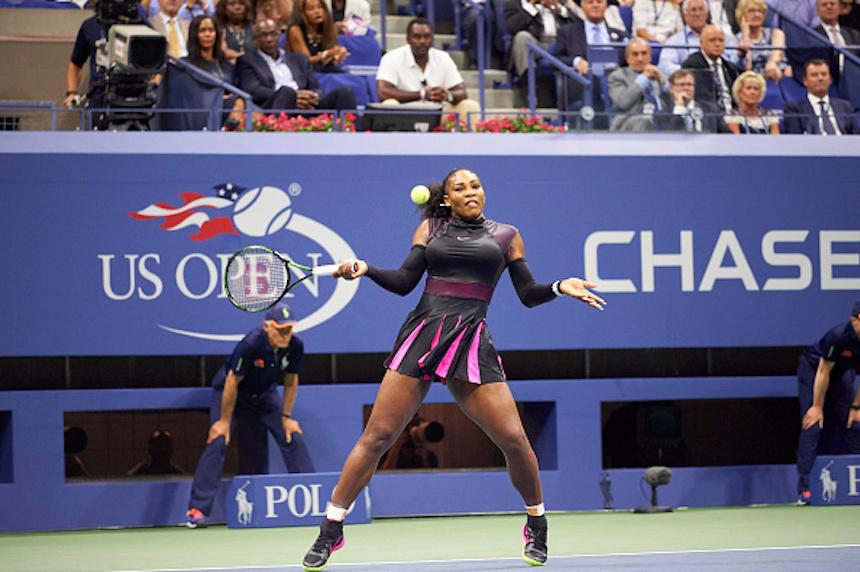 Serena Williams en el US Open