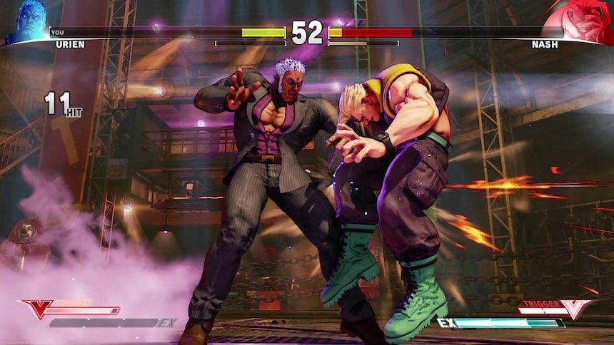 Street Fighter 5 Urien